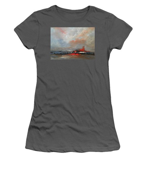 Speeding Women's T-Shirt (Athletic Fit)