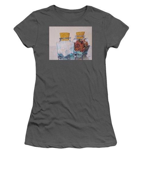 Spice Jars Women's T-Shirt (Athletic Fit)