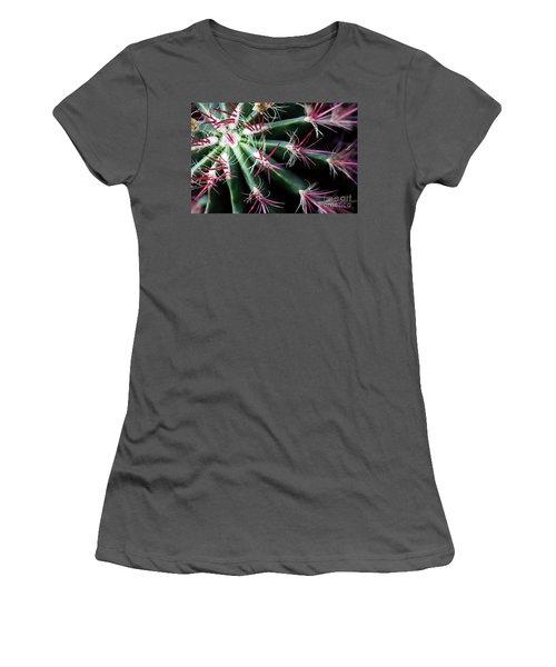 Spikes Women's T-Shirt (Junior Cut) by Ana Mireles