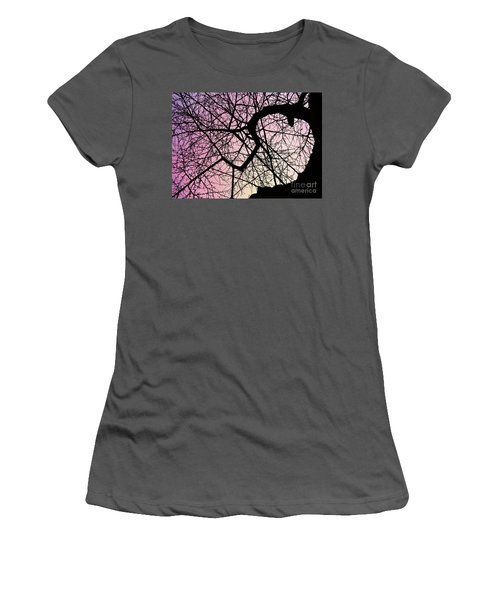 Spiral Tree Women's T-Shirt (Athletic Fit)
