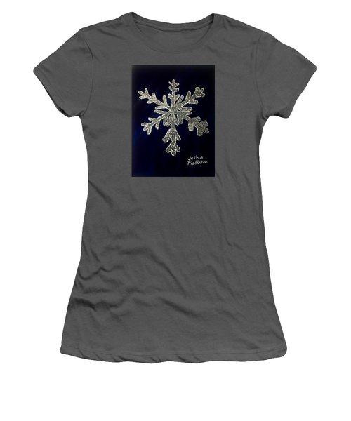 Snow Day Women's T-Shirt (Junior Cut) by Joshua Maddison