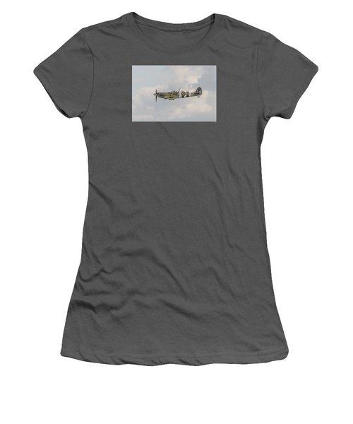 Spitfire Mk Vb Women's T-Shirt (Athletic Fit)