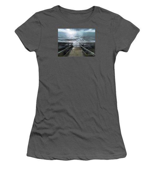 Splash Women's T-Shirt (Junior Cut) by Karen Lewis