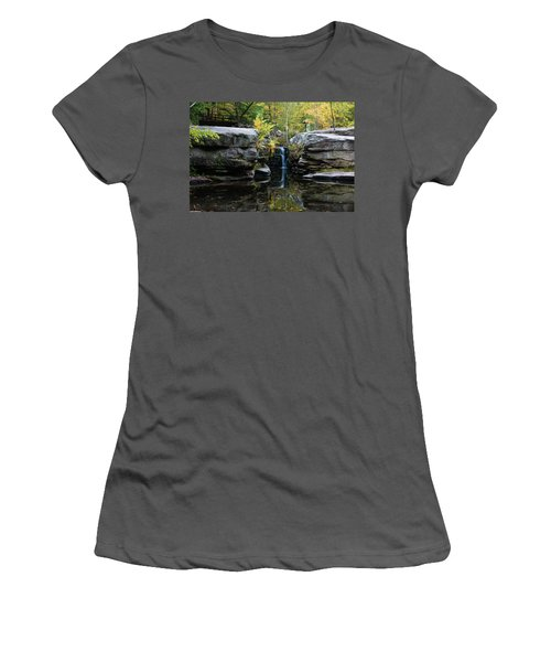 Split Rock In October #1 Women's T-Shirt (Athletic Fit)