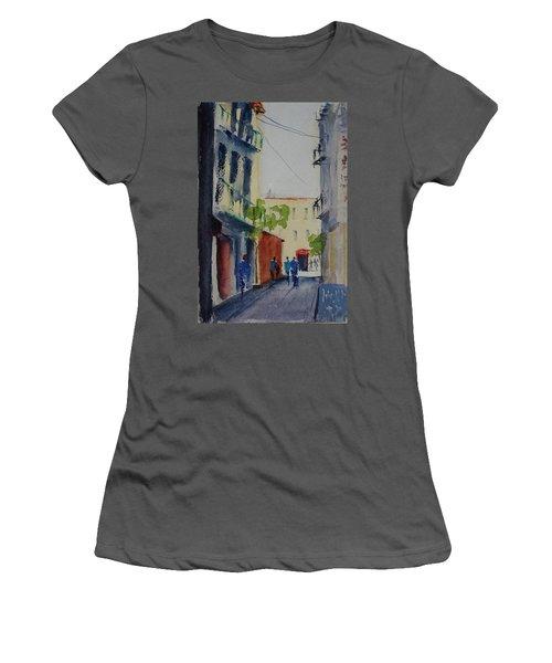 Spofford Street3 Women's T-Shirt (Junior Cut) by Tom Simmons