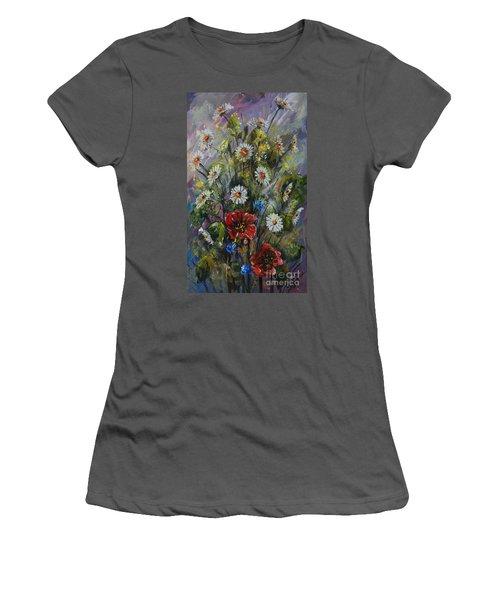 Spring Bouquet Women's T-Shirt (Athletic Fit)