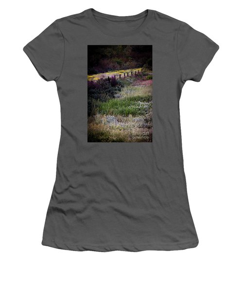 Women's T-Shirt (Junior Cut) featuring the photograph Spring Colors by Kelly Wade