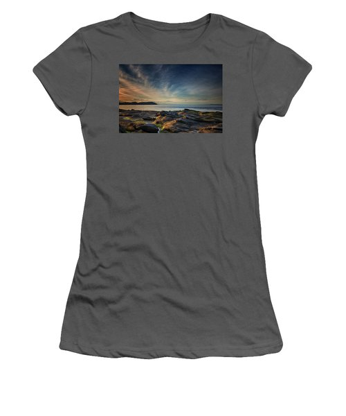 Spring Evening At Madrona Women's T-Shirt (Junior Cut) by Randy Hall