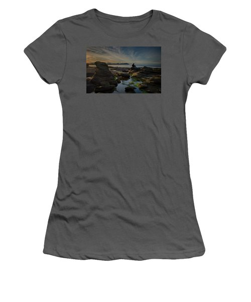Spring Evening Women's T-Shirt (Junior Cut) by Randy Hall