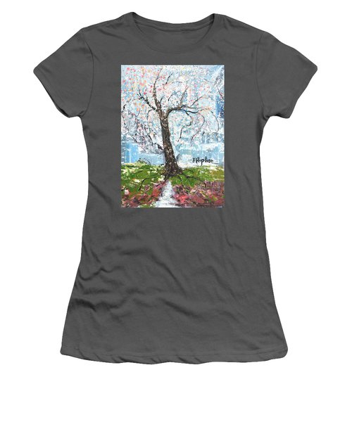 Spring Expression Women's T-Shirt (Athletic Fit)