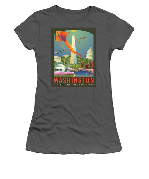 Spring In Washington D.c. Women's T-Shirt (Athletic Fit)