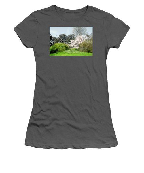 Women's T-Shirt (Junior Cut) featuring the photograph Spring Treasures by Diana Angstadt