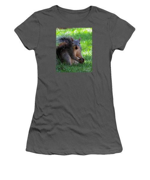 Squirrel 2 Women's T-Shirt (Athletic Fit)