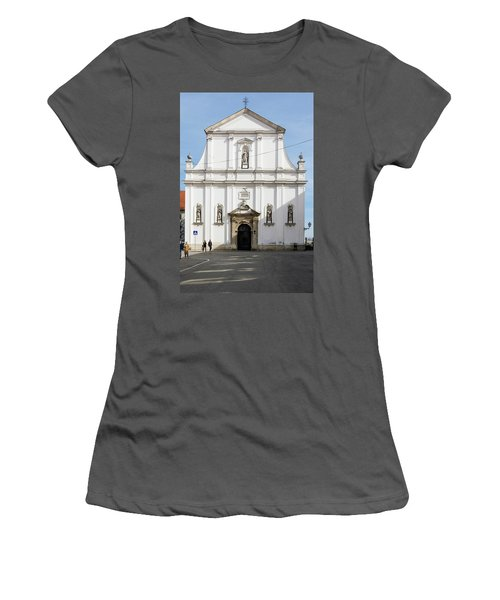 St. Catherine's Church Women's T-Shirt (Athletic Fit)