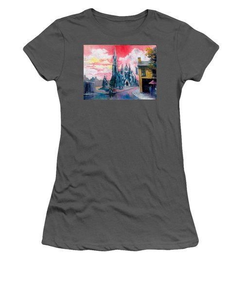 St Johns Cathedral Limerick  Ireland Women's T-Shirt (Athletic Fit)