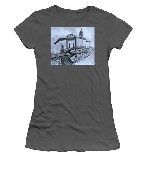 St. Jules Cathedral  Women's T-Shirt (Junior Cut) by Tony Clark