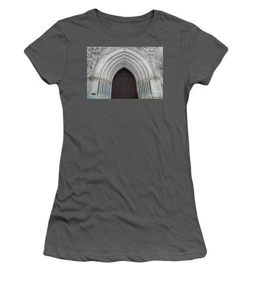 St. Mary Cathedral- Austin Texas Women's T-Shirt (Athletic Fit)