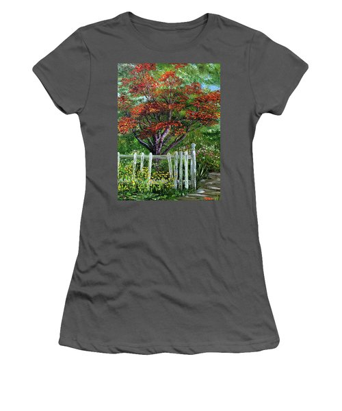 St. Michael's Tree Women's T-Shirt (Athletic Fit)