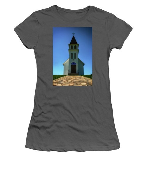 Women's T-Shirt (Junior Cut) featuring the photograph St. Peter's Church 2 by Joseph Hollingsworth