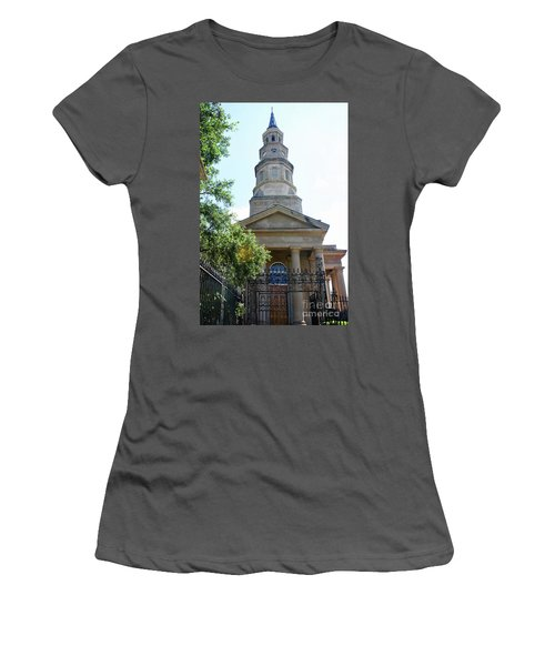 St. Phillips Episcopal Church, Charleston, South Carolina Women's T-Shirt (Athletic Fit)