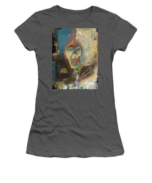 Stage Fright Women's T-Shirt (Athletic Fit)