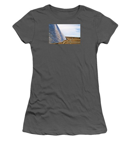 Staircase  Women's T-Shirt (Junior Cut) by Martin Cline