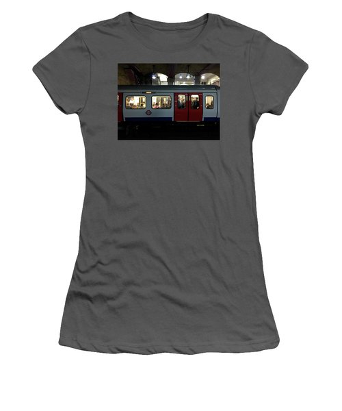 Stalled Underground Women's T-Shirt (Athletic Fit)