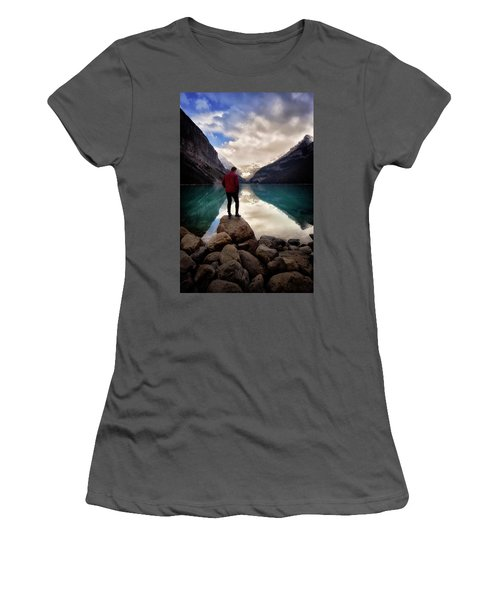 Standing Alone Women's T-Shirt (Junior Cut) by Nicki Frates