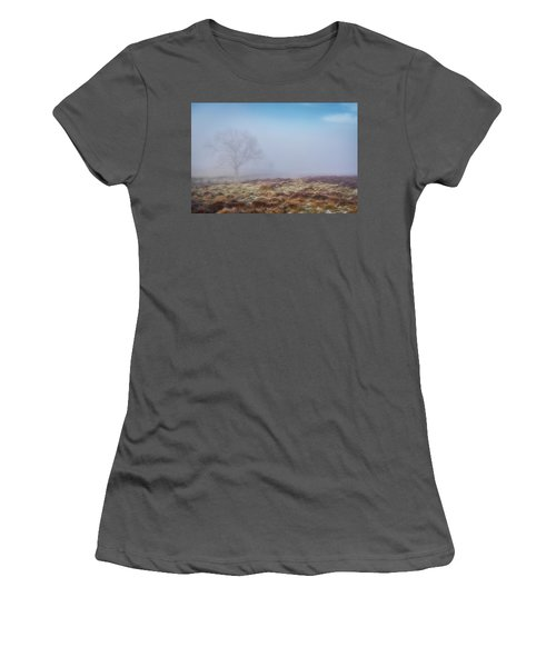 Women's T-Shirt (Athletic Fit) featuring the photograph Standing Fiercely by Jeremy Lavender Photography