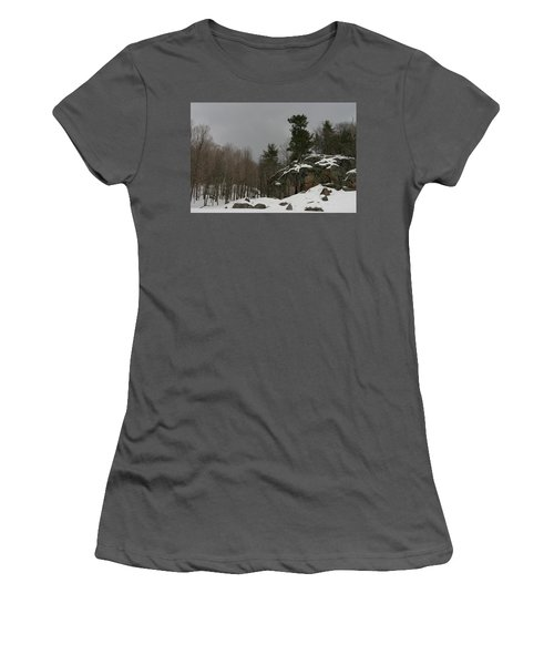 Standing Women's T-Shirt (Athletic Fit)