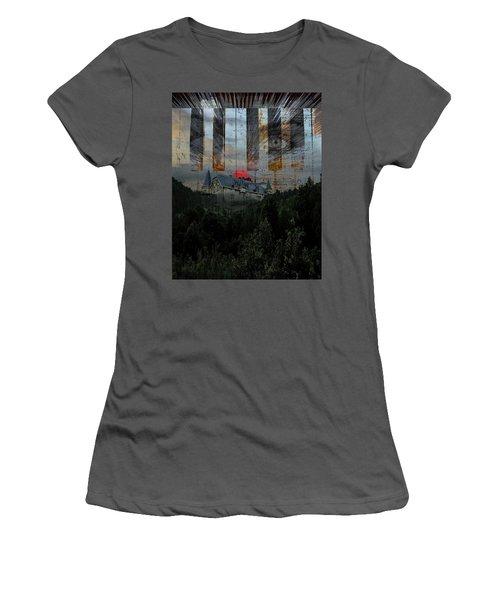 Star Castle Women's T-Shirt (Athletic Fit)
