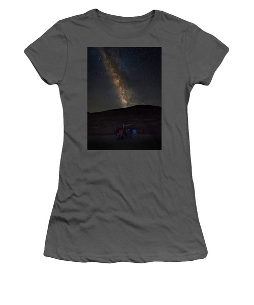 Star Gazing Women's T-Shirt (Athletic Fit)