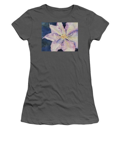 Women's T-Shirt (Junior Cut) featuring the painting Star Shine by Mary Haley-Rocks