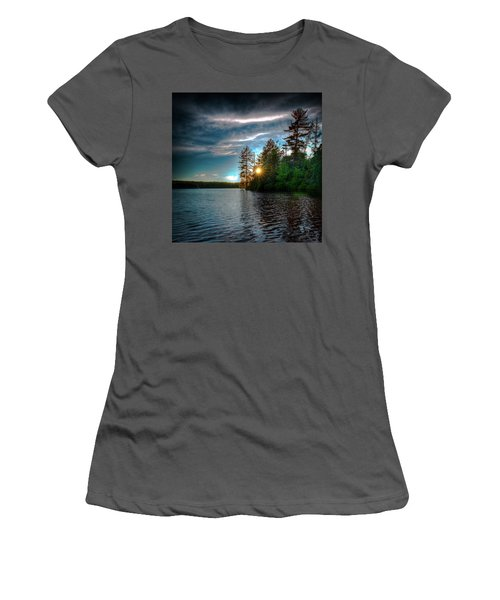Star Sunset Women's T-Shirt (Athletic Fit)