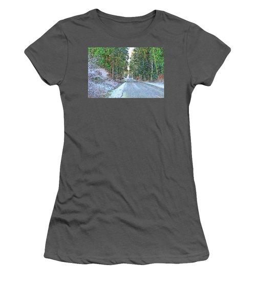 Starbird Road Women's T-Shirt (Junior Cut) by Tobeimean Peter
