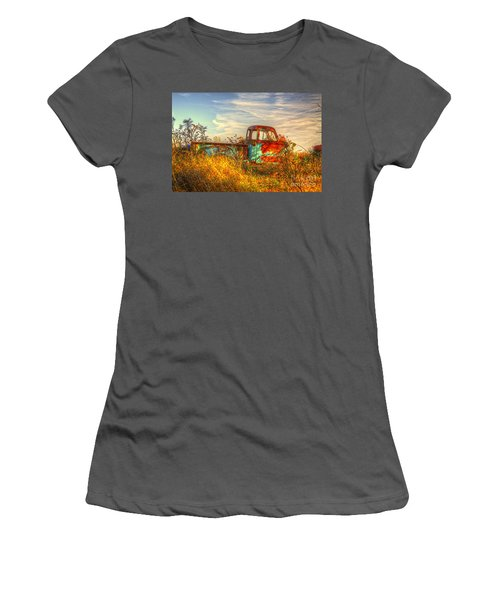 Starving Artist Women's T-Shirt (Athletic Fit)