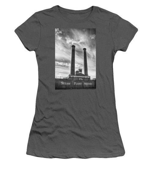 Steam Plant Square Women's T-Shirt (Athletic Fit)