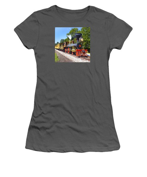 Steaming Into History Women's T-Shirt (Junior Cut) by Paul W Faust -  Impressions of Light