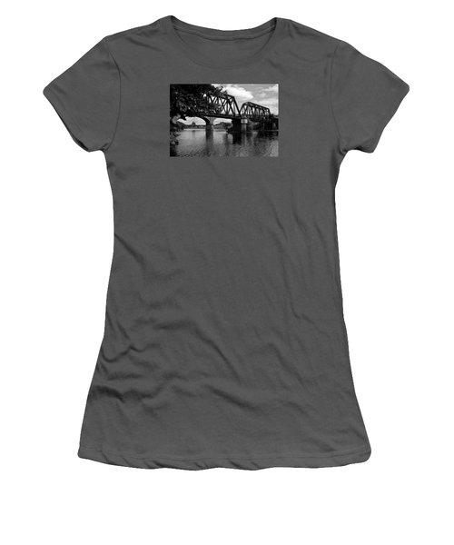 Steel City Women's T-Shirt (Junior Cut) by Michael Dorn