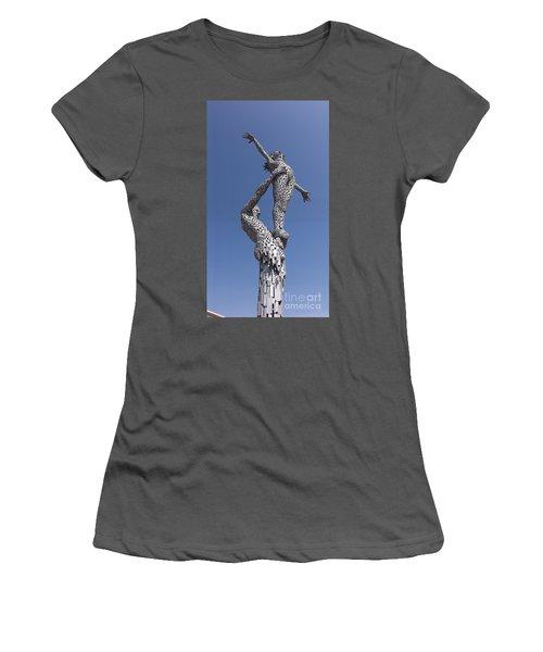 Steel People Women's T-Shirt (Athletic Fit)