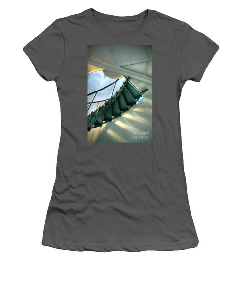 Steps To Heaven Women's T-Shirt (Athletic Fit)