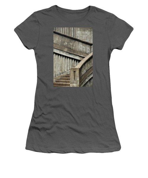 Steps Two Women's T-Shirt (Junior Cut) by Newel Hunter