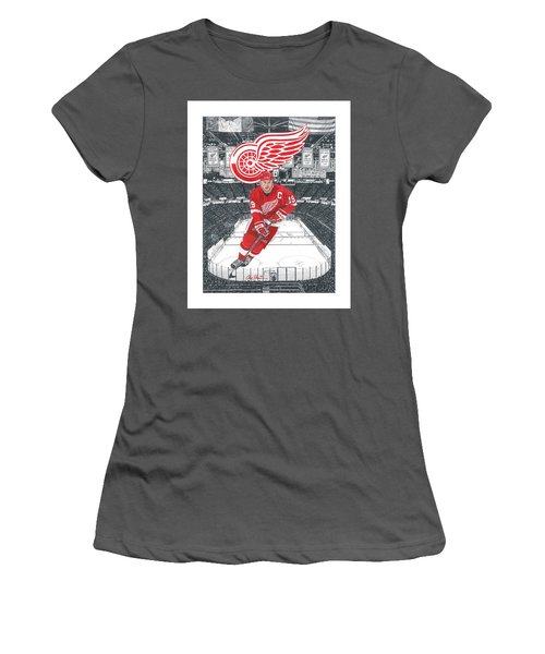 Steve Yzerman  Women's T-Shirt (Athletic Fit)
