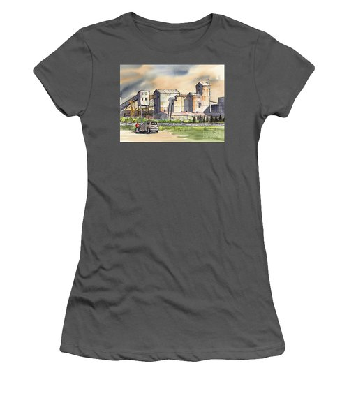 Still In Business Women's T-Shirt (Athletic Fit)