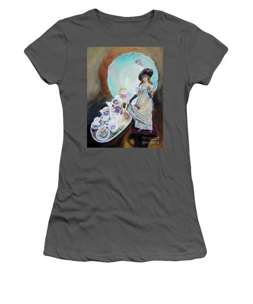 Still Life Emerging Women's T-Shirt (Athletic Fit)