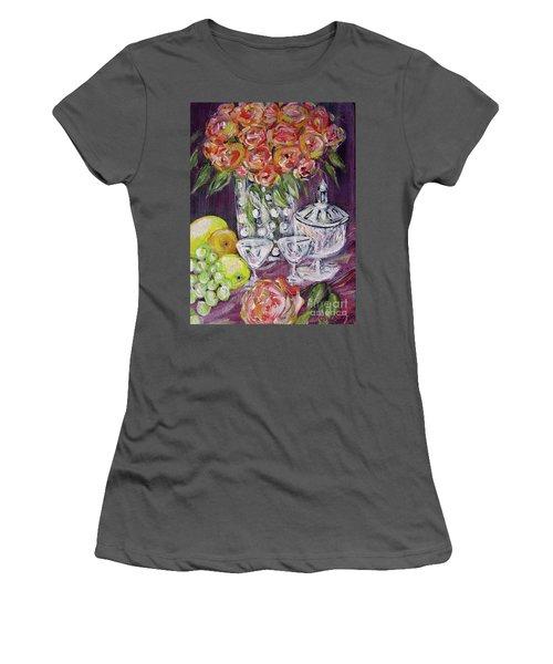 Still Life. Prosperity Women's T-Shirt (Athletic Fit)