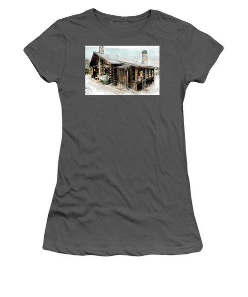 Still Livable Women's T-Shirt (Junior Cut) by Deborah Nakano