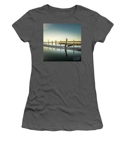 Women's T-Shirt (Junior Cut) featuring the photograph Still Standing by Hannes Cmarits