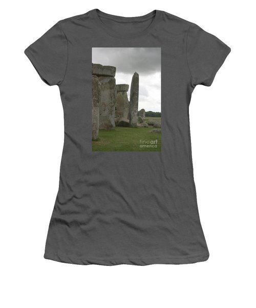 Stonehenge Side Pillars Women's T-Shirt (Athletic Fit)