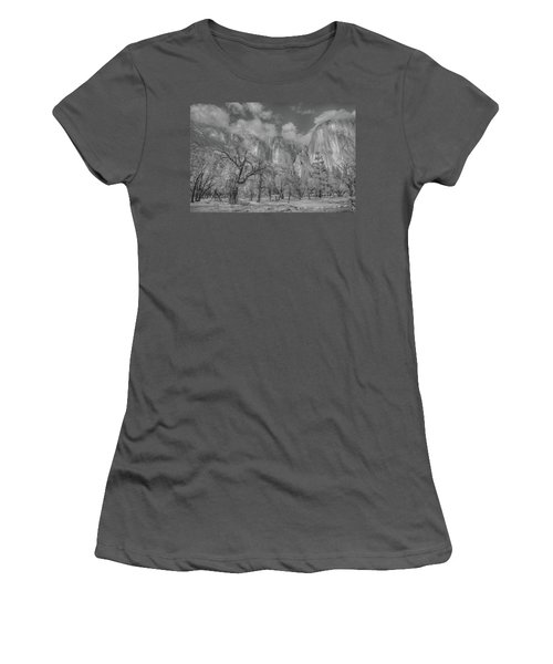 Storm A Brewing Women's T-Shirt (Athletic Fit)